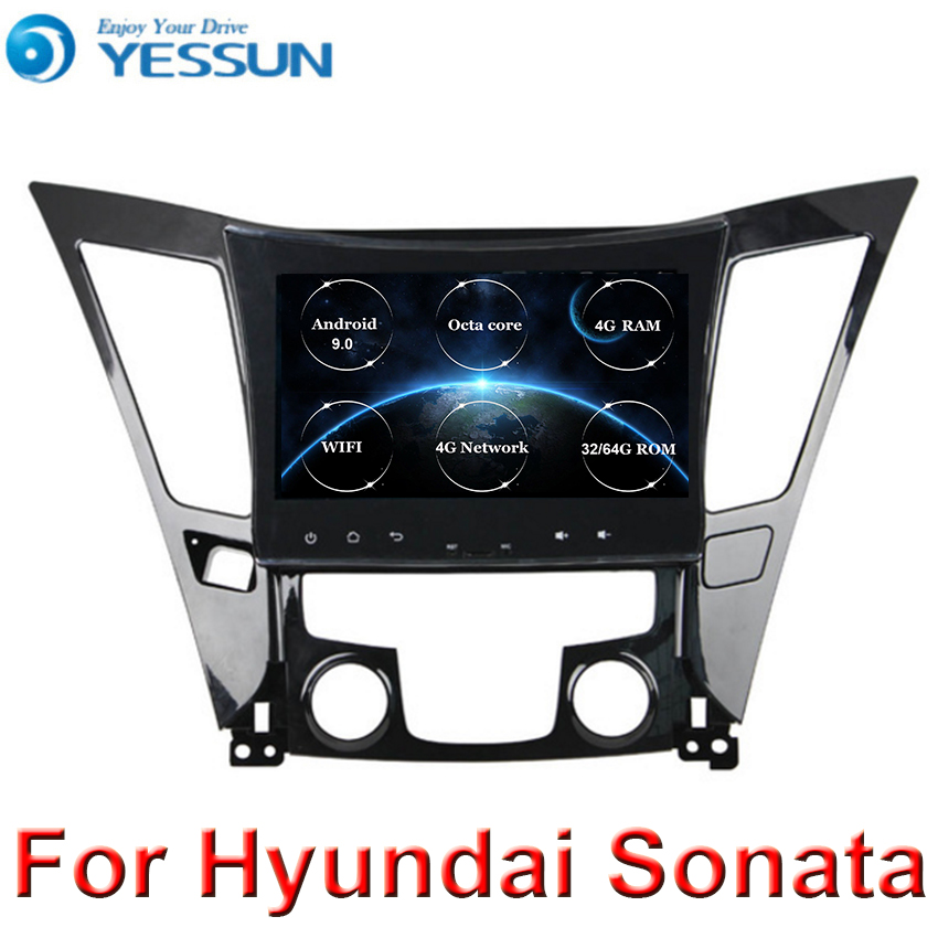 Android 9 Octa core HD Touch screen 2din car radio GPS Navi system For HYUNDAI Sonata i40 i45 2011 2012 2013 2014 2015