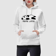 Hooded Pullover Fashion Women Sweatshirt Winter White Kpop Bangtan Cute Animal Print With Pocket Top Hat Top Sudadera Mujer(China)