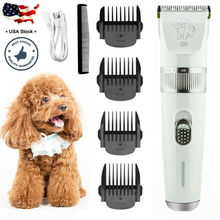 цена на Pet Dog Cat Clippers Grooming Hair Trimmer Groomer Shaver Razor Quiet Clipper