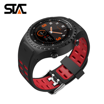 M1 Multifunctional altimeter, heart rate monitor, pedometer, call smart watch, GPS positioning, men's and women's smart bracelet f3 smart watch support 3g network call wi fi gps heart rate monitor
