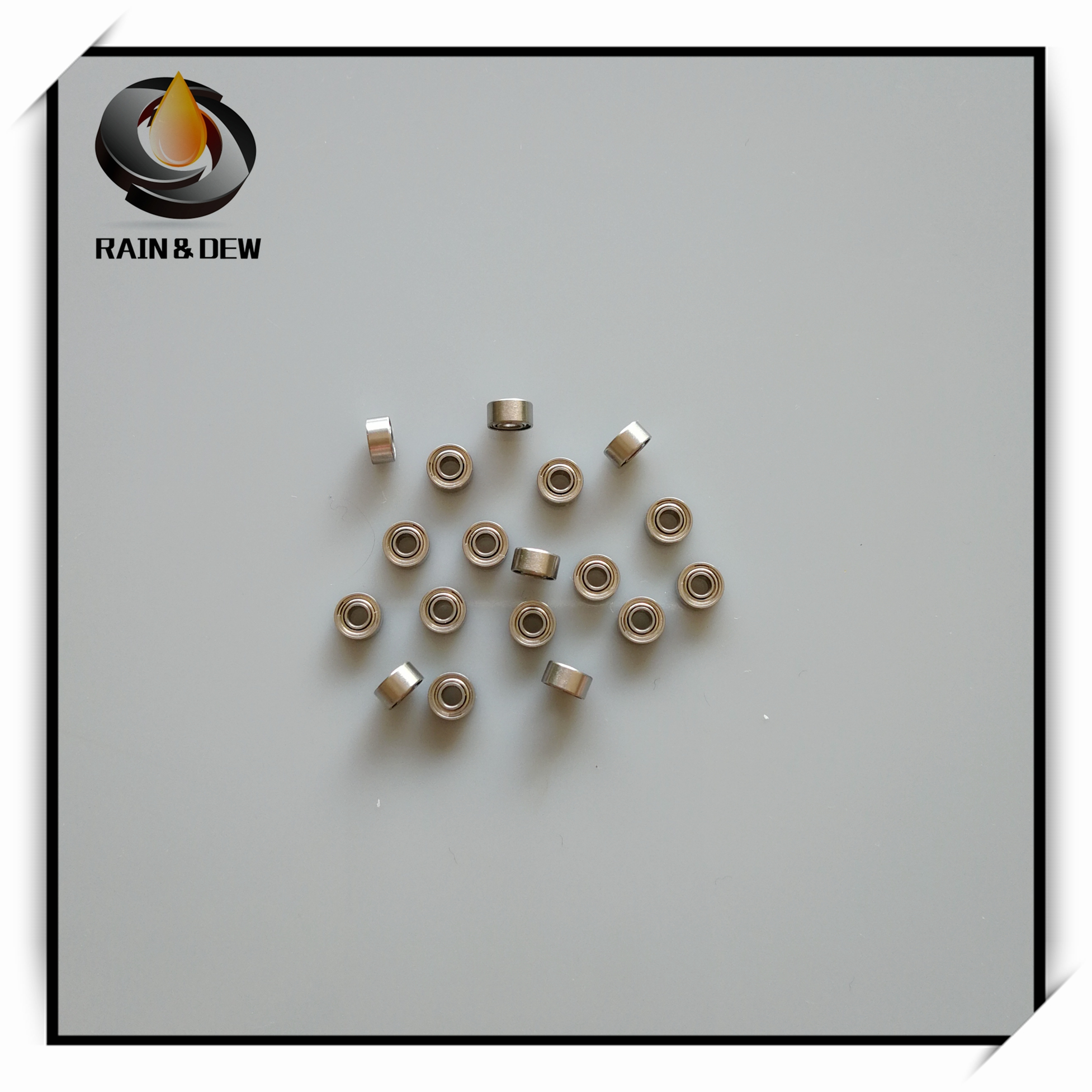Metal Shielded PRECISION Ball Bearings Mini Bearings 10PCS MR62ZZ 2x6x2.5mm
