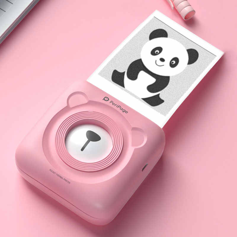 PeriPage Mini Pocket Photo Printer Portabel Ponsel Printer Foto untuk Ponsel Android IOS Windows