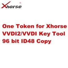 Bir Token Xhorse VVDI2/VVDI anahtar aracı VVDI Mini 96 bit ID48 kopya