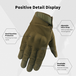 Image 5 - Summer Touch Screen Camo Motorcycle Gloves Men Full Finger Motorbike Riding Gloves Women Motos Motocross Tactical Military