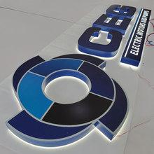 3D nadruk UV podświetlany matowy kanał ze stali nierdzewnej list powlekany farbą tanie tanio shsuosai CN (pochodzenie) ss-328