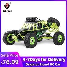 Wltoys 12428 50 Km/h haute vitesse RC voiture 1/12 échelle 2.4G 4WD RC tout-terrain chenille RTR électrique RC escalade voiture jouet pour enfants