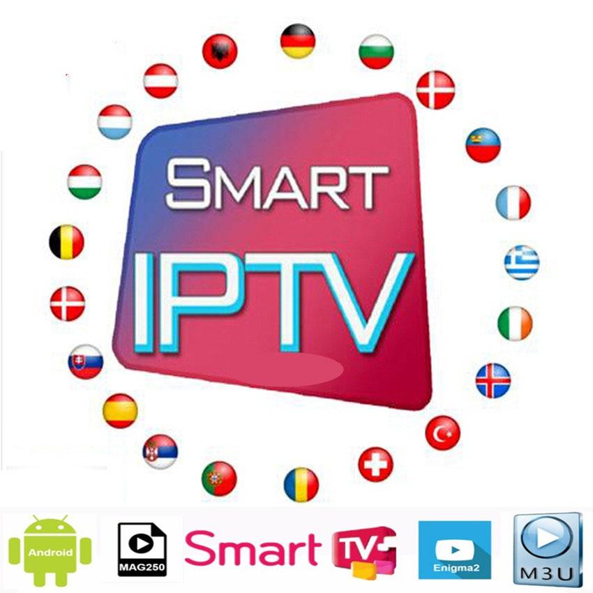 HD World Iptv Stb Android TV Box  Live Europe IPTV French Spain Polish Arab Portugal UK CA IPTV Subscription Free Test Ssmart Tv