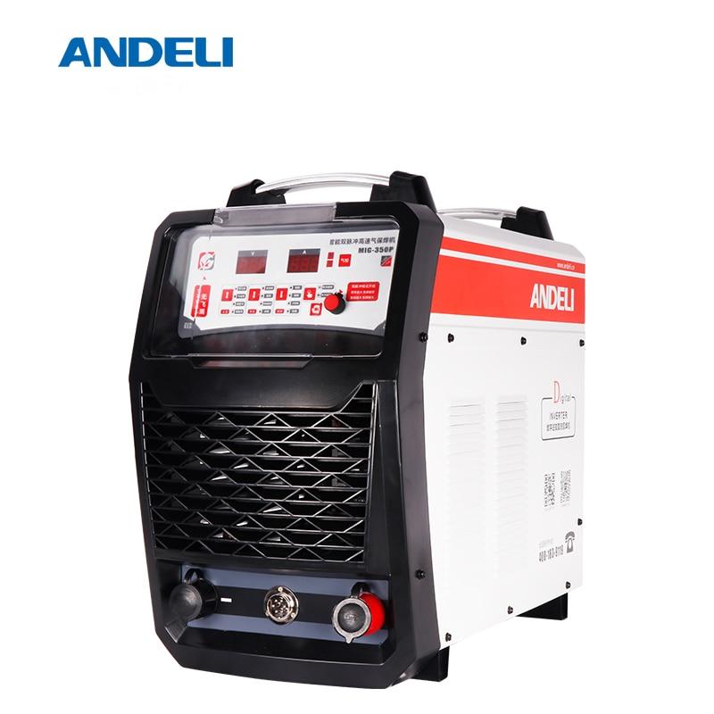 ANDELI Smart Drei Phase Aluminium MIG schweißer können Doppel System Puls MIG-350FP Lasser Verwandeln Split Laser löten Maschine