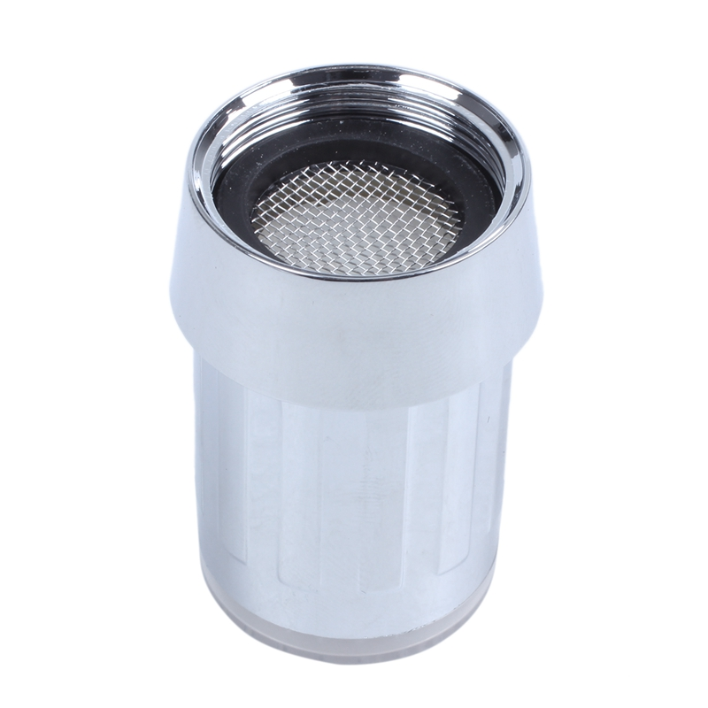 3-color Water Glow LED Faucet Light Temperature Sensor