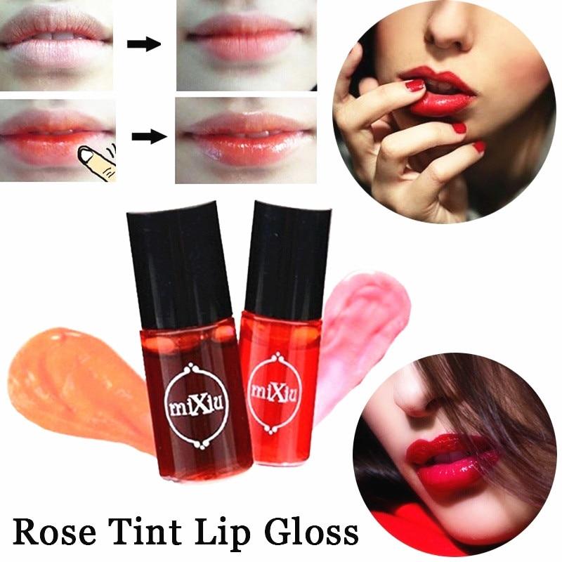 Sexy Women Makeup Multifunction Waterproof Lip Gloss Tint Dyeing Liquid Lipgloss Lipstick  Blusher Long Lasting Makeup Cosmetics