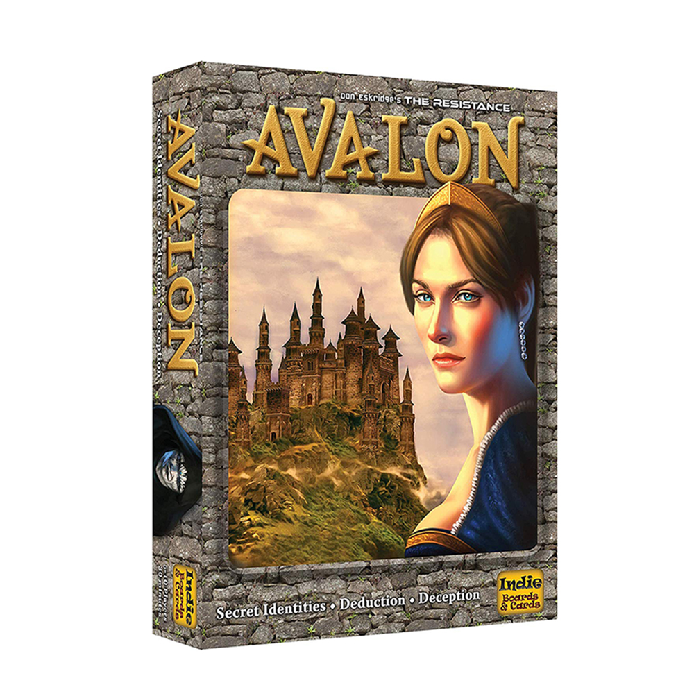 The Resistance Avalon Board Game Classic Board Game 5-10 Players New Indie Boards Cards Party Game Children's Educational Toys