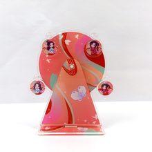 LLavero de Tian Guan Ci Fu para hombre y mujer, llavero con diseño creativo de la diosa del cielo, llavero de parejas, modelo Acrílico