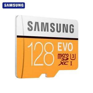 Image 3 - SAMSUNG tarjeta de memoria Micro SD EVO de 32GB, 64GB, Clase 10, 128GB, Max 100, MB/s, SDHC, SDXC, U3, UHS I, TF, 4K, HD, para Smartphone, tableta y PC