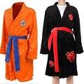 Халат для косплея с аниме драконом для мужчин и женщин, банный халат-кимоно, костюм для косплея Сон Гоку, халат, плащ, зимний