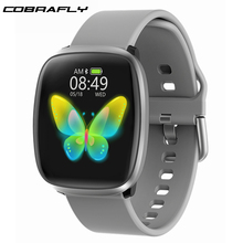 Cobrafly Smart Watch for men women with BT 5.0 full touch screen Fitness tracker Heart rate monitor Sports smart watch PK B57 Q9