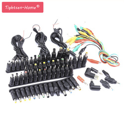 76 pcs Universal Laptop DC Power Supply Adapter Connector Plug AC DC conversion head Jack Charger Connectors Laptop Power Adapte