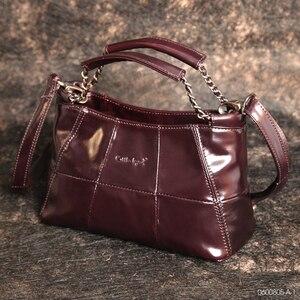 Image 1 - Cobbler 전설 정품 가죽 럭셔리 정통 핸드백 디자이너 Crossbody 가방 여성 숄더 토트 백 브랜드 Bolsos Luxuosas