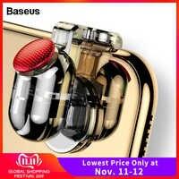 Baseus Gamepad Joystick Für PUBG Joypad Trigger Feuer Taste Ziel L1 R1 Schlüssel L1R1 Shooter Controller Für PUBG Handy spiel Pad