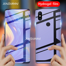 25D Front+Back Full hydrogel Film for xiaomi Max2 max3 screen protector xiaomiplay 8 8lite 9 9se CC9 CC9e Note2 Note3