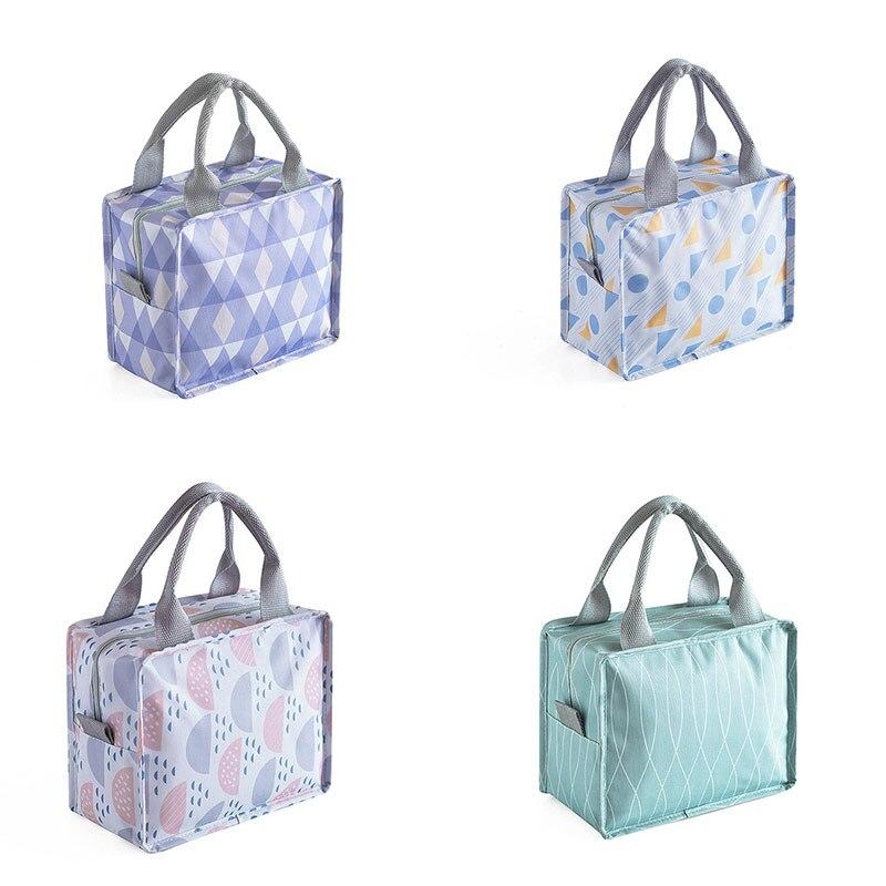 2019 Fashion Portable Thermo Bag Baby Bottle Baby Food Storage Insulation Bags Baby Feeding Bags Handbag Food Lunch Bag