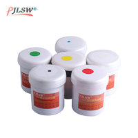 6 pcs different colors Super PCB UV photosensitive inks, Green PCB UV curable solder resist ink,solder mask UV ink