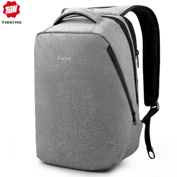 Tigernu Brand USB Charging Backpacks Men Light Slim Minimalist Fashion Women Backpack school bag 14