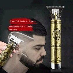 Cyfrowa maszynka do strzyżenia włosów akumulatorowa elektryczna maszynka do strzyżenia włosów barbershop Cordless 0mm t-blade baldheaded outliner men