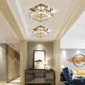 Новейшая современная люстра светодиодный Потолочные светильники для комнатной лампы lamparas de techo поверхностного монтажа потолочная лампа дл...
