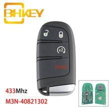 Bhkey 4 кнопки m3n 40821302 умный Автомобильный ключ для chrysler