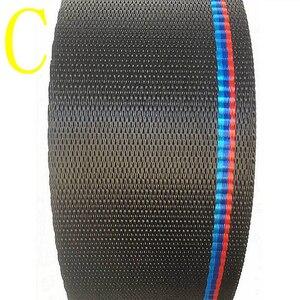 Image 4 - רכב מושב חגורת M סגנון רצועת מירוץ לרתום סרט אוטומטי בטיחות חגורה כחול אדום סיטונאי DropShipping עבור BMW e46 e90 e39