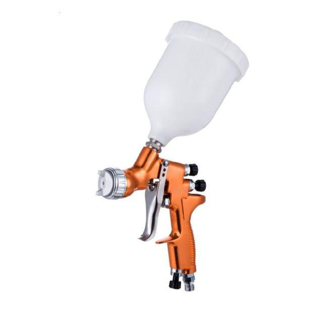 Farbe Spray Gun TE Modell Schwerkraft Sprayer Düse Automotive Malerei Werkzeuge