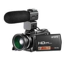 Ordro HDV V7 Plus Full HD 1080P Digital Camera 3.0 Screen IR Night Vision Professional Camcorder Remote Control Video Cameras