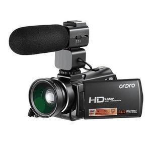 Image 1 - Ordro HDV V7 Plus Full HD 1080P Digital Camera 3.0 Screen IR Night Vision Professional Camcorder Remote Control Video Cameras