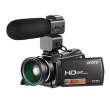 Ordro HDV V7 artı Full HD 1080P dijital kamera 3.0 ekran IR gece görüş profesyonel kamera uzaktan kumanda Video kameralar