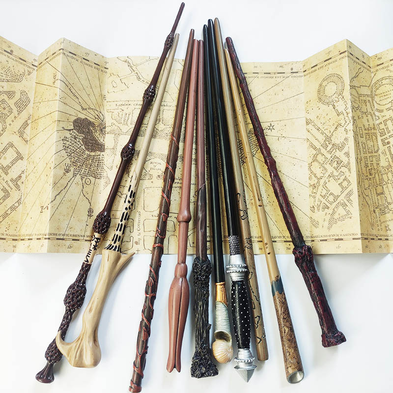 25 Metal Core Wand 35-40cm Cosplay Voldemort Hermione Wand No Boxed Children's Surprise Gift Birthday Gift
