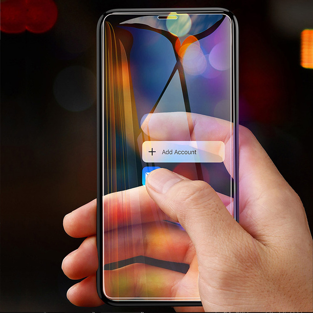 3PCS Protective Glass on the For iPhone 11 Pro X XR XS Max Tempered Screen Protector For iPhone 7 8 6 6s Plus 11 PRO Max Glass 3