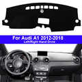 Auto Auto-Dashboard Abdeckung Dash Matte Teppich Cape Für Audi A1 2012 2013 2014 2015 2016 2017 2018 LHD RHD auto Dashmat Protector Pad