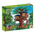 Новые 3117 шт игрушки дерево дом совместимые идеи 21318 строительные блоки кирпичи для детей обучающая игрушка Рождественский подарок
