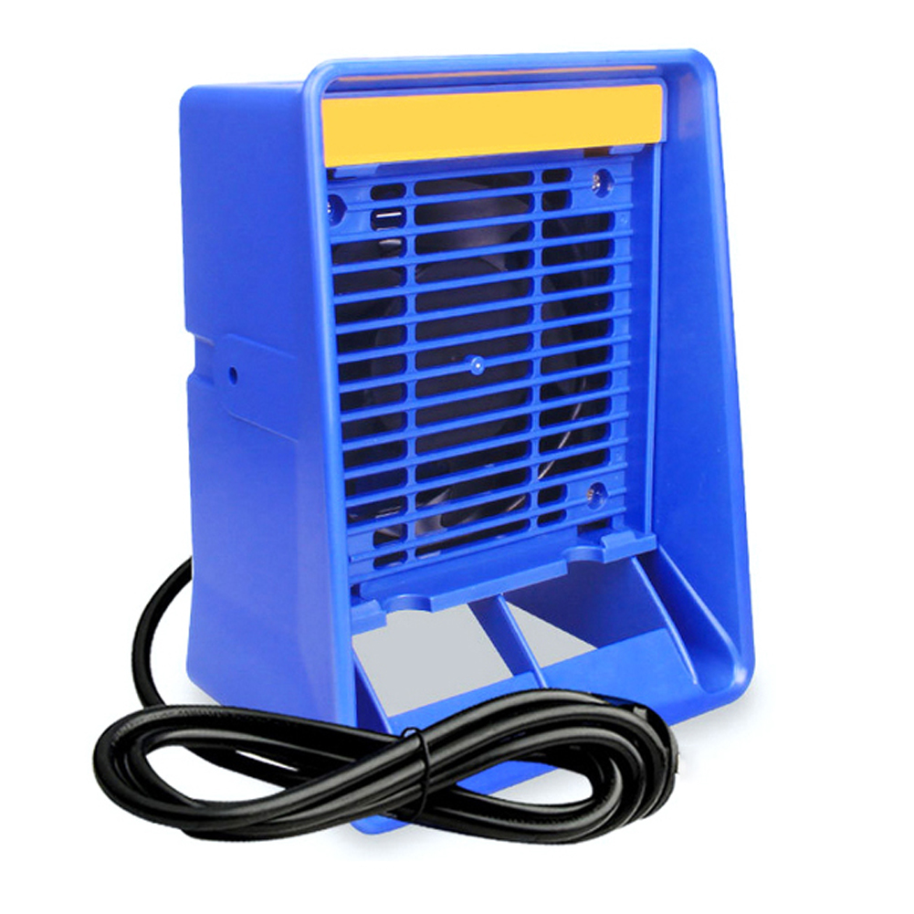 220V FA-400 Solder Iron Smoke Absorber,ESD Fume Extractor,Smoking Instrument, Air Filter Welding Fan ,with1 Free Sponge Filters