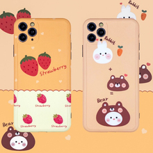 Full Cover Camera Phone Case For Apple iPhone 11 Pro Max X XR XS Max 8 7 Plus SE 2 2020 Case Soft i 7plus 8plus Strawberry Cases wood floral soft silicone edge mobile phone cases for apple iphone x 5s se 6 6s plus 7 7plus 8 8plus xr xs max case