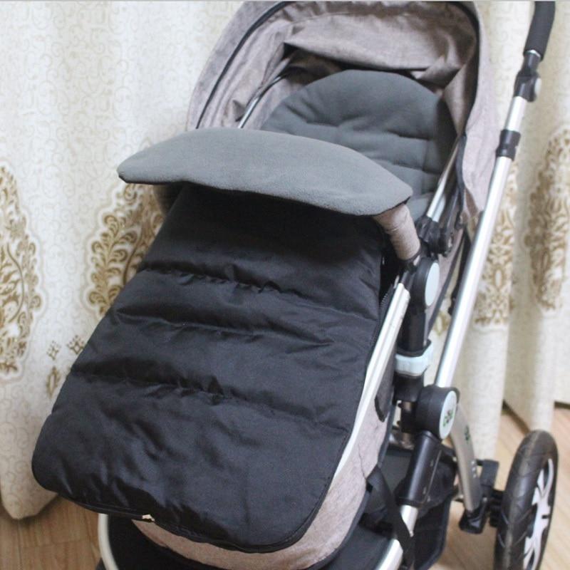 1PCS Autumn Winter Baby Infant Warm Sleeping Bag Baby Stroller Sleeping Bag Waterproof Windproof Baby Footmuff For Pushchairs