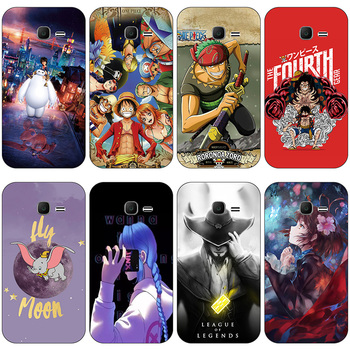 A for Samsung Galaxy Star Pro Duos S 7260 7262 GT S7262 S7260 case Cover for Samsung Galaxy Ace 3 S7270 S7272 Clear cartoon Case image