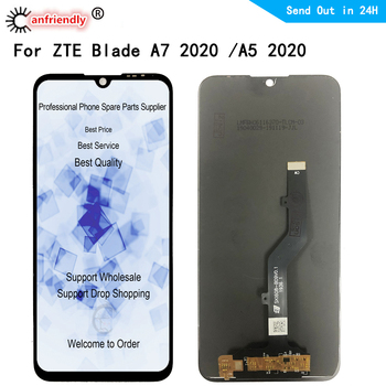 For ZTE Blade A7 2020 LCD Display+Touch panel Screen Digitizer module Assembly Display Repair For ZTE A5 2020 for zte blade x7 display v6 t660 t663 lcd monitor touch screen digitizer screen accessories for zte blade x7 v6 z7 lcd tools