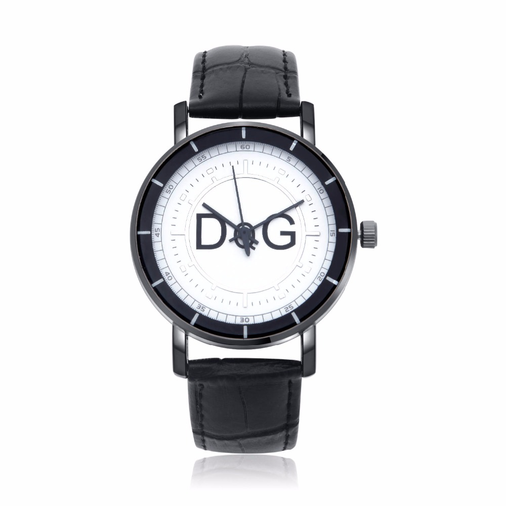 Reloj Hombre 2019 New Fashion Men Watch Top Luxury Brand DQG Quartz Watches Men's Fashion Casual Leather Wrist Watches Hot Gifts