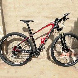 2019 Trifox Merek T800 Karbon MTB Bingkai 29er 27.5 MTB Karbon Bingkai 29 Karbon Mountain Bike Frame 142*12 atau 135*9 Mm Frame Sepeda