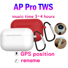 AP Pro Bluetooth Wireless Earphone Copy Air 3 Pro 1:1 Size Airpoding Head phone with Noise Reduction not W1 H1 Chip i12 i80 yison i80 silver