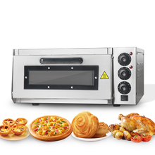 ITOP Electric Pizza Oven Cake roasted Chicken Pizza Cooker Stainless Steel Commercial Kitchen Baking Machine Roasted Oven Stock 38l oven mini high quality electric oven for pizza smokehouse convection 1600w dkx a38a1 household appliances stainless steel