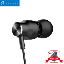 Haylou H8 Wired earphones Mobile phone universal microphone call music sports earphones(China)