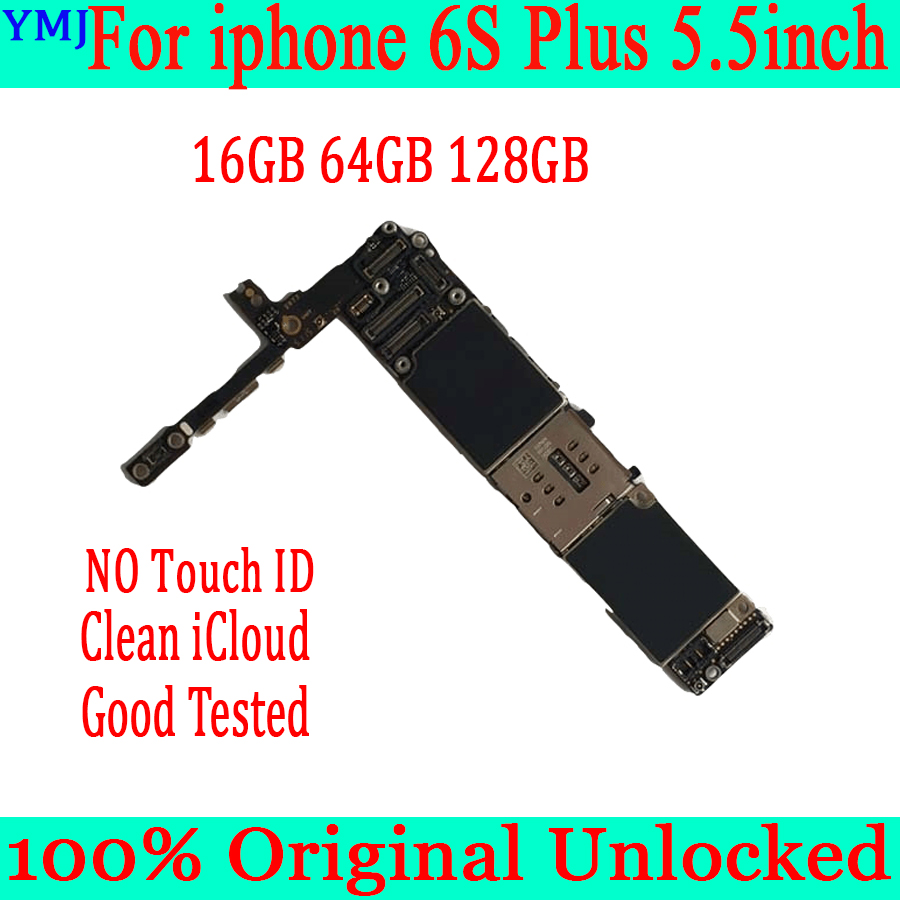 <font><b>16gb</b></font> / 64gb / 128gb Original unlocked for <font><b>iPhone</b></font> <font><b>6S</b></font> Plus <font><b>Motherboard</b></font> without Touch ID Logic board for <font><b>iphone</b></font> <font><b>6s</b></font> Plus 5.5inch MB image
