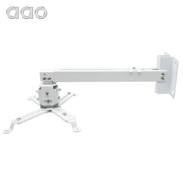 AAO Projector Brackets Adjustable  YG600 YG620 YG621 Projector Ceiling Mount Loading 15KG Roof Bracket HD Projector Mount Stand